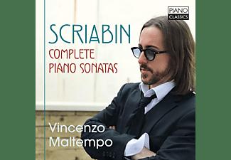Vincenzo Maltempo - SCRIABIN: COMPLETE PIANO SONATAS  - (CD)