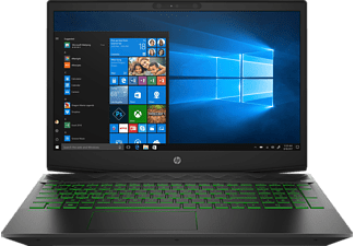 HP Pavilion 15-cx0350ng, Notebook mit 15,6 Zoll Display, Core™ i5 Prozessor, 8 GB RAM, 512 GB SSD, GeForce® GTX 1050, Schwarz