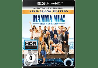 Mamma Mia! Here we go again 4K Ultra HD Blu-ray + Blu-ray
