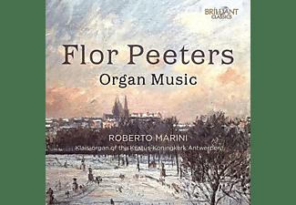 Roberto Marini - PEETERS: ORGAN MUSIC  - (CD)
