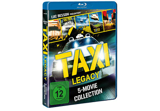 Taxi Legacy-5 Movie Collection Blu-ray