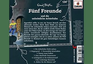 Fünf Freunde - 134/und die unheimliche Achterbahn  - (CD)