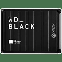 WD Black P10 Game Drive für Xbox One 3 TB, 2,5 Zoll, Gaming-Festplatte, Schwarz/Weiß