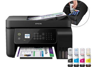 EPSON EcoTank ET-4700 Tintenstrahl Multifunktionsdrucker WLAN Netzwerkfähig