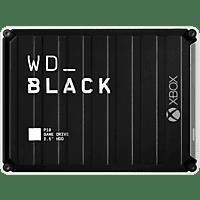 WD Black P10 Game Drive für Xbox One Externe Festplatte 5 TB, 2,5 Zoll, Gaming-Festplatte, Schwarz/Weiß