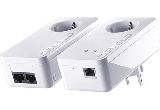 DEVOLO dLAN 550+ WiFi Starter Kit plus dLAN 550 WiFi Ergänzungsadapter Starter Kit 500 kbit/s
