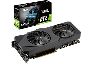 ASUS Grafikkarte Dual GeForce RTX 2080 SUPER OC Evo 8GB (90YV0DJ0-M0NM00)