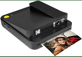 KODAK Sofortbilddigitalkamera + Bluetooth (Schwarz) Sofortbildkamera, Schwarz