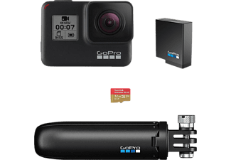 GOPRO HERO7 Holiday Kit - Actioncam (Fotoauflösung: 12 MP) Schwarz