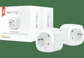 EVE Energy, 2er Set - Smarte Steckdose mit Verbrauchsmessung (Vorgängerversion) Stromsensor