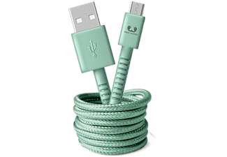 FRESH N REBEL USB - microUSB kabel Fabriq 1.5 m Misty Mint (2UMC150MM)