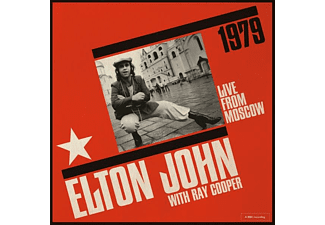 John,Elton & Cooper,Ray - Live From Moscow CD