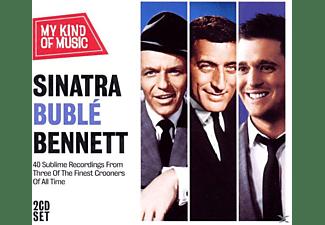 Sinatra,F/Buble,M/Bennett,T - Sinatra Buble Bennett-My Kind Of Music  - (CD)