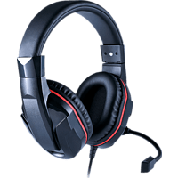 BIGBEN GAMING-HEADSET FÜR SWITCH, Over-ear Gaming Headset Schwarz/Rot