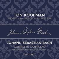 Ton & The Amsterdam Baroque Orchestra & Choir Koopman - Complete Bach Cantatas Vol.1-22 (67 CDS) [CD]