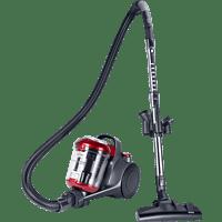 FAKIR 3692003 Trend | BL 141 Staubsauger, maximale Leistung: 700 Watt, Anthrazit/Rot)