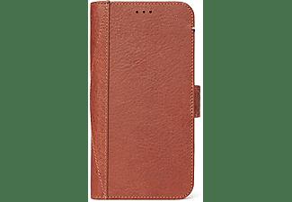 DECODED Leren Detachable Wallet met uitneembare Backcover voor iPhone Xr Bruin