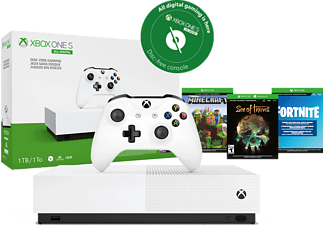 MICROSOFT Xbox One S 1 TB All Digital 2.0