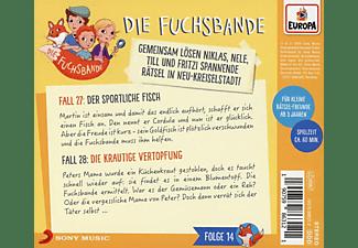 Die Fuchsbande - 014/Fall 27: Der sportliche Fisch/Fall 28: Die k  - (CD)