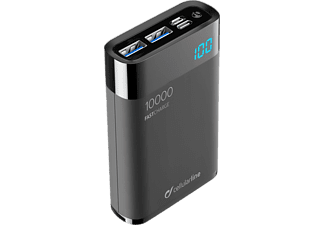 CELLULAR LINE FreePower Manta HD 10000 - Powerbank (Schwarz)