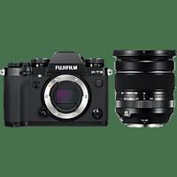 FUJIFILM X-T3 schwarz mit Objektiv XF 16-80mm F4 R OIS WR