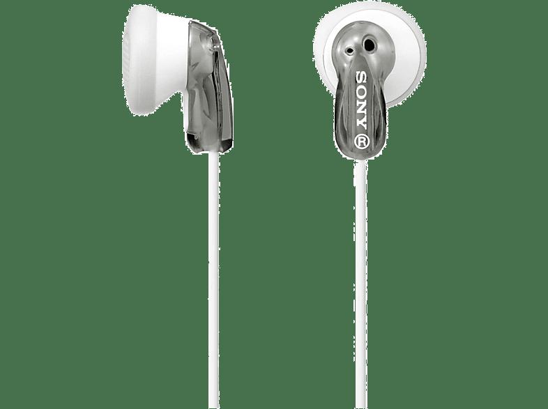 SONY MDR-E9LP, In-ear Kopfhörer  Grau