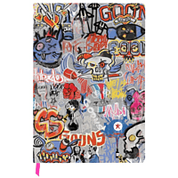 "GAYA ENTERTAINMENT Rage 2 Notebook ""Goon Graffiti"" Notebook, Mehrfarbig"