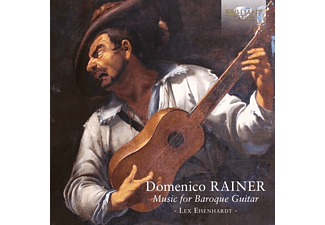 Lex Eisenhardt - RAINER - MUSIC FOR BAROQUE GUITAR  - (CD)
