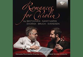 Davide Alogna, Karsiyaka Municipality Chamber Orchestra, Hakan Sensoy - Romances For Violin  - (CD)