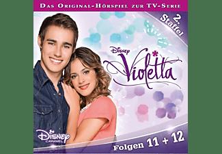 Violetta - Staffel 2: Folge 11+12  - (CD)