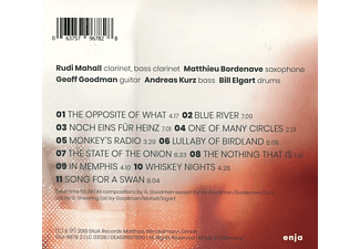 Geoff Goodmann Quintet - The Opposite Of What  - (CD)