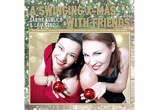 Sabine Kühlich, Laila Genc - A Swinging X-Mas With Friends  - (CD)