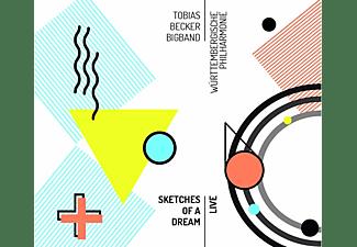 Tobias Becker Bigband - Sketches Of A Dream-Live  - (CD)