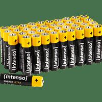 INTENSO Energy Ultra AAA Micro Alkaline Batterie Zink, EMD, Potassium Hydroxid, Graphit 40 Stück