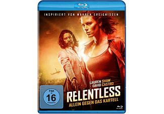 RELENTLESS-ALLEIN GEGEN DAS KARTELL Blu-ray