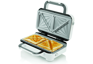 Sandwichera - Breville DuraCeramic VST074X, Potencia 850W, Revestimiento DuraCeramic, Capacidad 2 sandwiches
