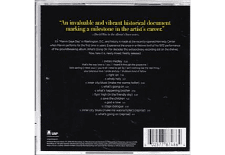 Marvin Gaye - WHAT'S GOING ON (LIVE)  - (CD)