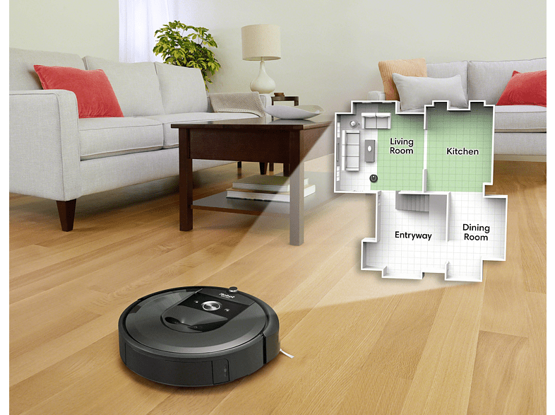Roboter-Navigation-Wohnung