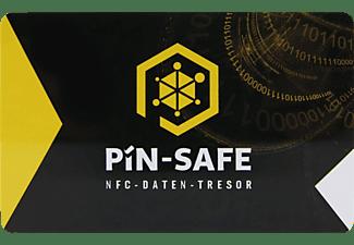 PIN-SAFE NFC offline Daten-Tresor inkl 2.Karte Speicherkarte Schwarz
