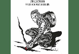 Friedemann - Ich Leg Mein Wort In Euer Ohr (Deluxe Mediabook)  - (CD)