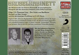 Gruselkabinett - 155/Flaxman Low-Der Geist von Baelbrow  - (CD)
