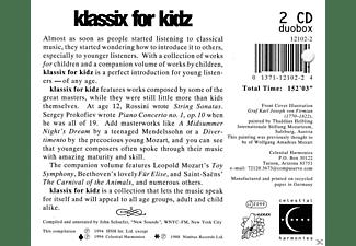 VARIOUS - Klassix For Kidz  - (CD)