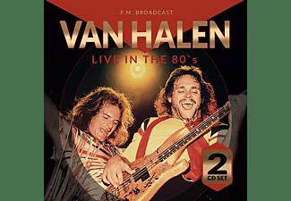 Van Halen - Live in the 80s-FM Broadcast  - (CD)