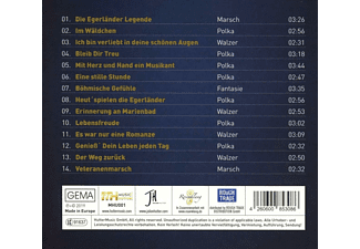 Ernst Hutter & Die Egerländer Musikanten - Bleib Dir Treu!  - (CD)