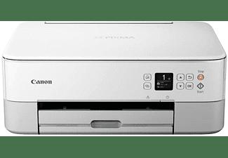 Impresora multifunción - Canon Pixma TS5351, USB, Wi-Fi, Pantalla OLED, App Canon Print, Blanco