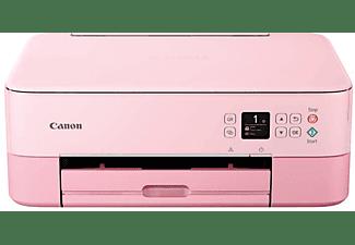 Impresora multifunción - Canon Pixma TS5352, USB, Wi-Fi, Pantalla OLED, App Canon Print, Rosa