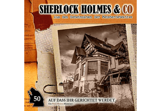 sherlock holmes co auf das ihr gerichtet werdet folge 50. Black Bedroom Furniture Sets. Home Design Ideas