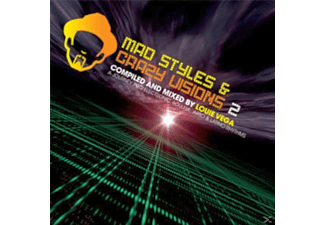 Louie Various & Vega - MAD STYLES AND CRAZY VISIONS 5  - (Vinyl)
