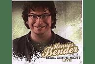 Hennes Bender - Egal gibt's nicht-live! [CD]