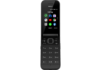NOKIA 2720 Flip Smartphone, Schwarz